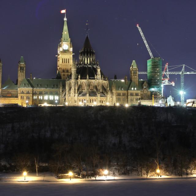 """Ottawa Parliament"" stock image"