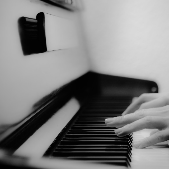 """""""Playing from the Heart"""" stock image"""