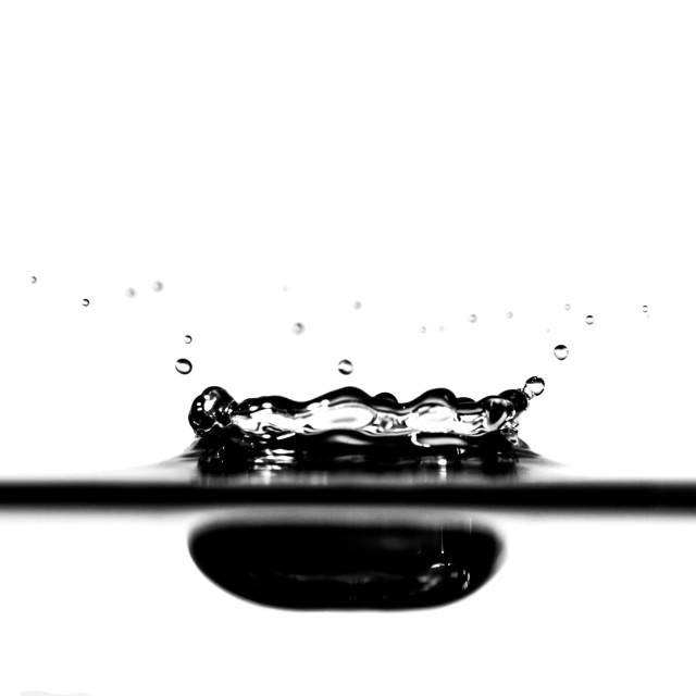 """Black Splash"" stock image"