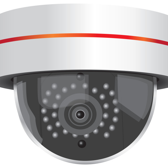 """Video Security Camera"" stock image"