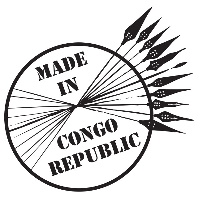 """Made in Congo Republic"" stock image"