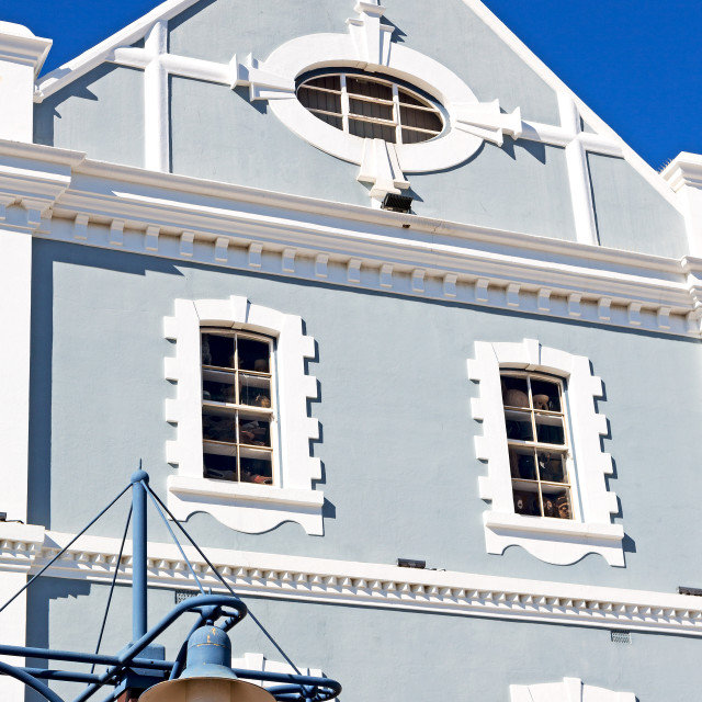 """""""in south africa cape town antique muslim quarter"""" stock image"""