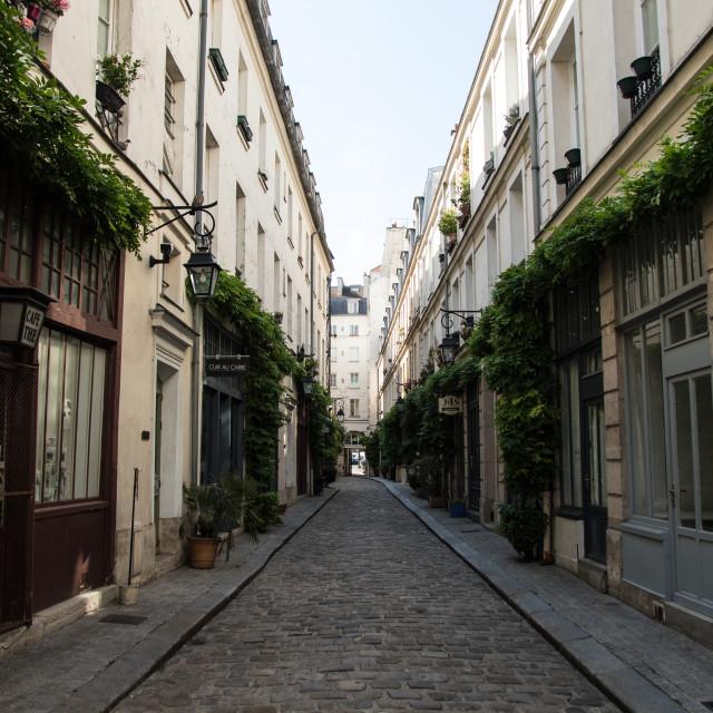 """Paris Streets"" stock image"