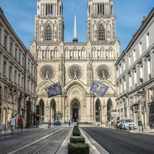 """Orléans France"" stock image"