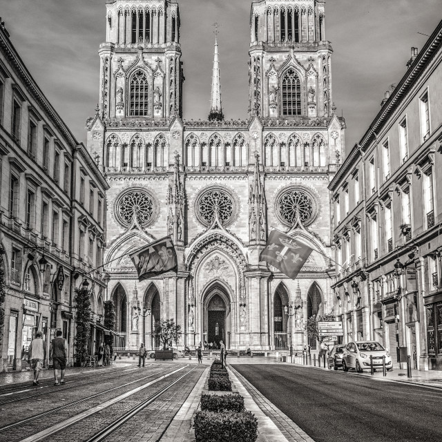 """Orléans France"" stock image"
