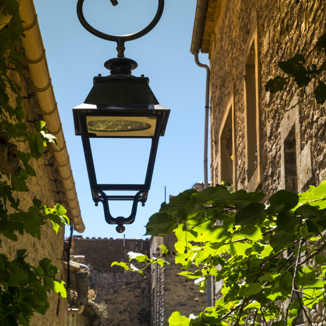 """Village of Bonnieux in the Provence France"" stock image"