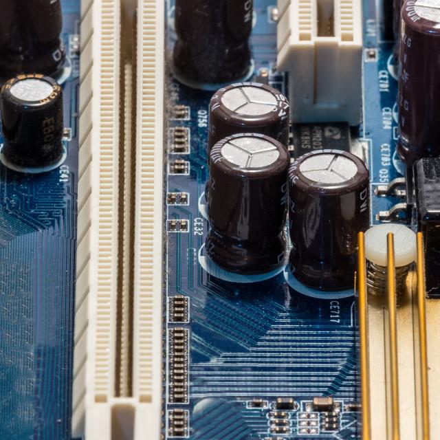 """Computer mainboard"" stock image"