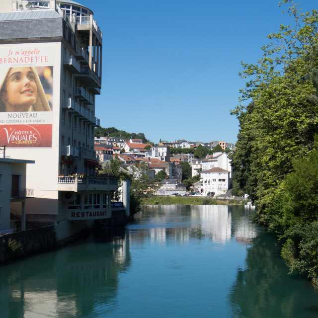 """Lourdes France"" stock image"