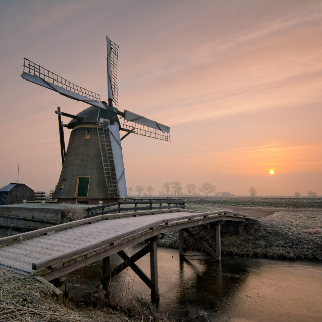 """Meerburger windmill"" stock image"
