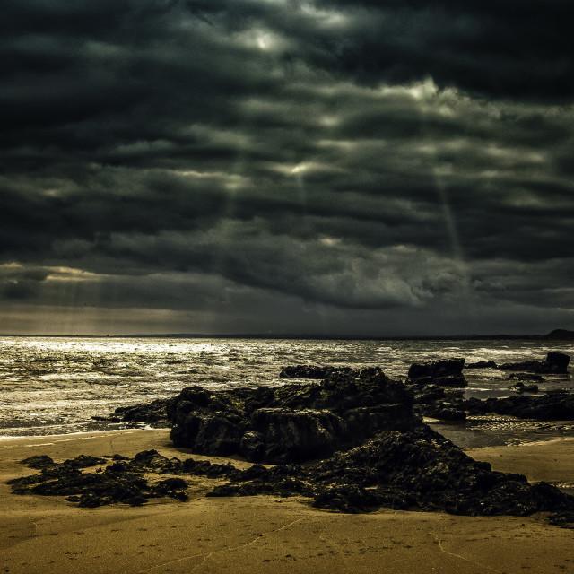 """""""Newburgh beach"""" stock image"""