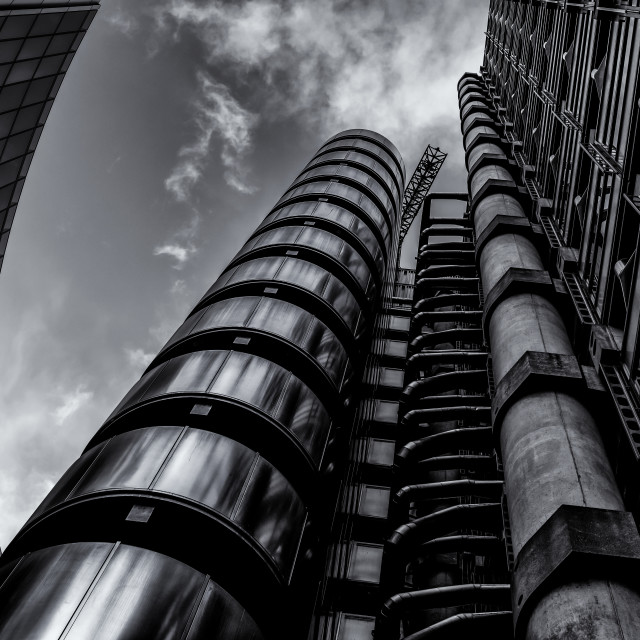 """Lloyds Building"" stock image"