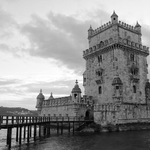 """Torre de Belem"" stock image"
