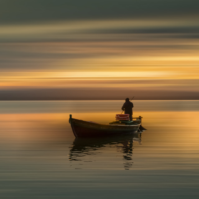 """Fisherman 01"" stock image"