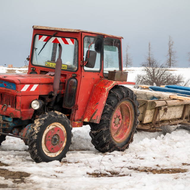 """""""Tractor"""" stock image"""
