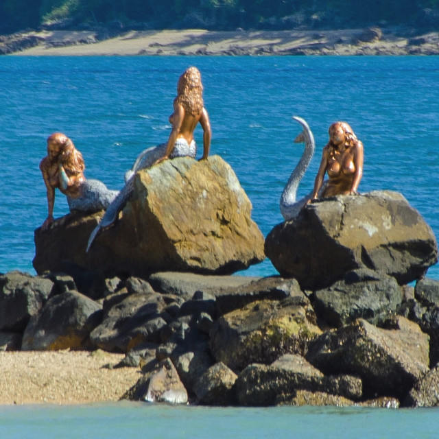 """Mermaids"" stock image"
