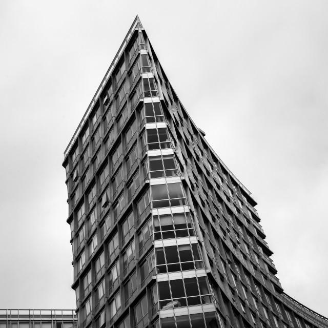 """Hilton, Liverpool"" stock image"