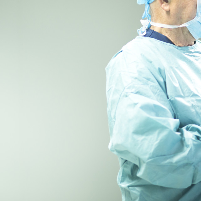 """Surgeon in hospital surgery"" stock image"