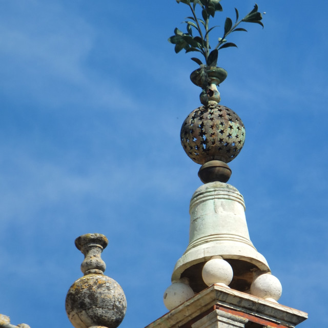 """""""Sevilla Cathedral Floral Detail"""" stock image"""