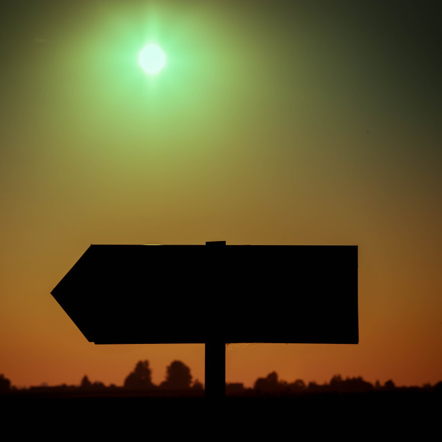 """Road Sign"" stock image"