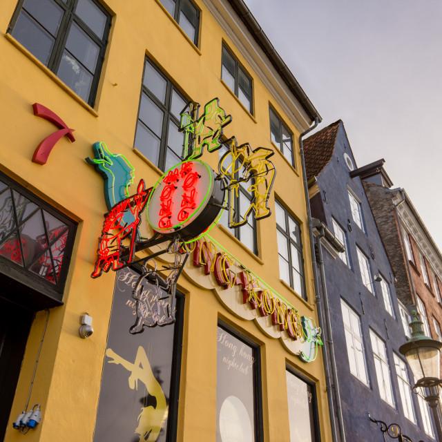 """Hong Kong Bar in Copenhagen"" stock image"