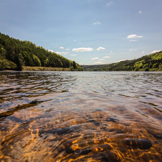 """""""Howden Reservoir, Derbyshire"""" stock image"""