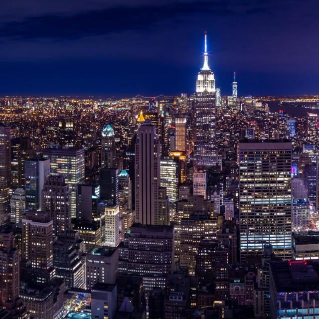 """""""NY Rocks"""" stock image"""