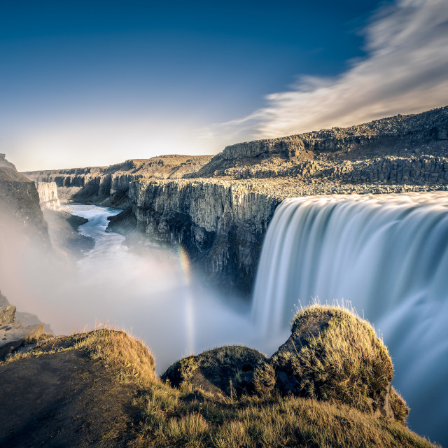 """Detifoss Waterfall in Iceland."" stock image"