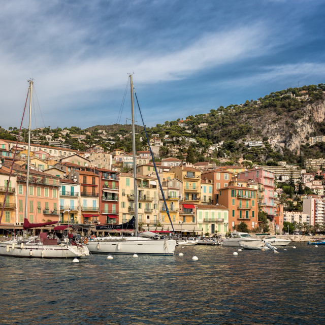 """""""Villefranche"""" stock image"""