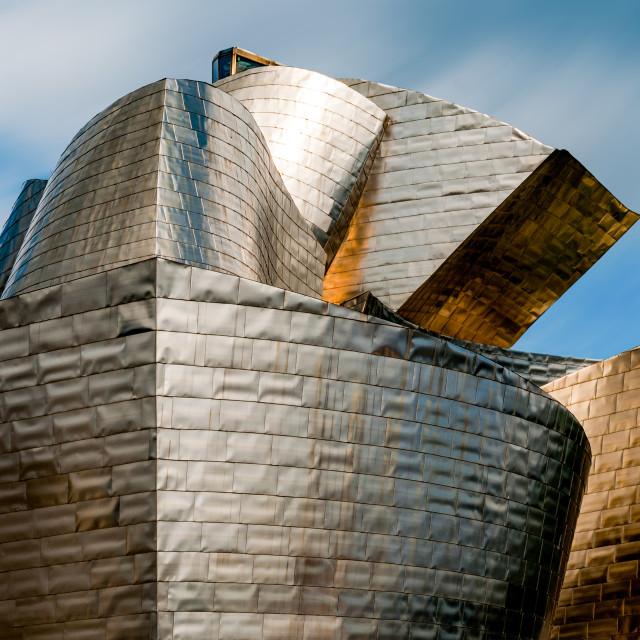 """Guggenheim museum in Bilbao"" stock image"