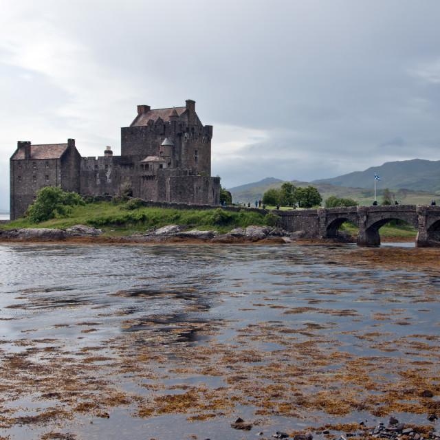 """""""Eileen Donan Castle"""" stock image"""