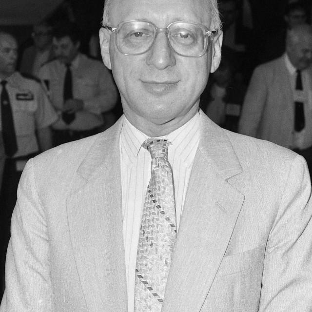 """""""Gerald Kaufman"""" stock image"""