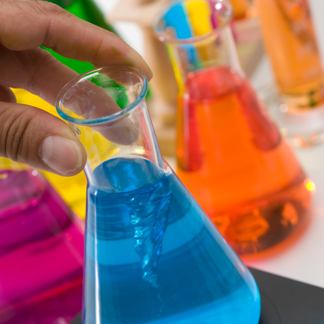 """Chemical, Science, Test Tube, Laboratory Equipment"" stock image"