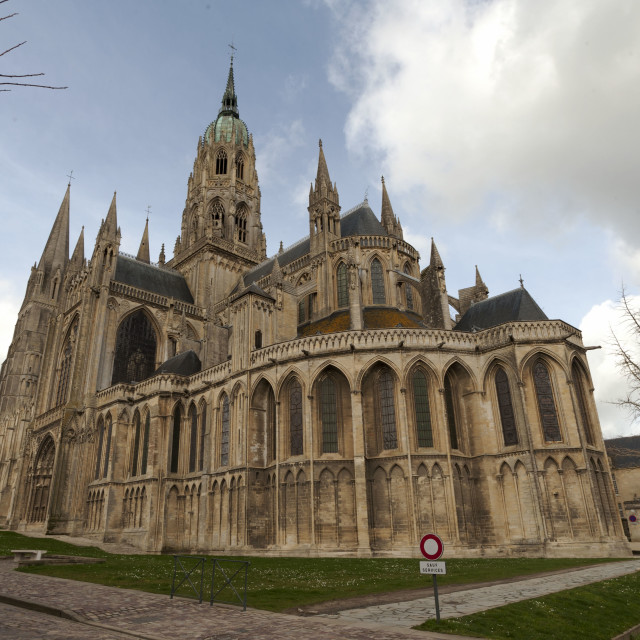 """""""Bayeux Cathedral"""" stock image"""