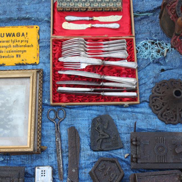 """Wrocław Flea Market"" stock image"
