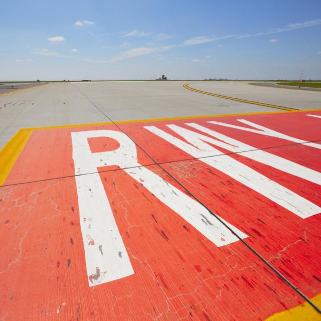 """Runway"" stock image"