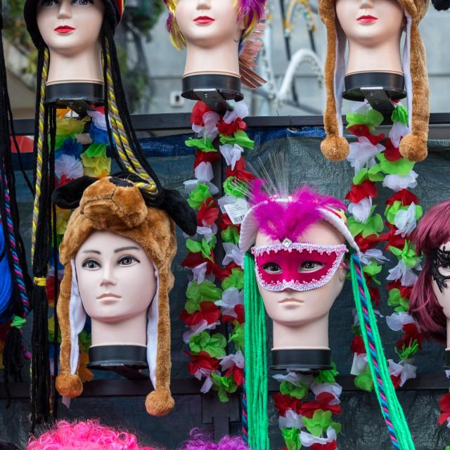 """Carnival Masks Decorations"" stock image"
