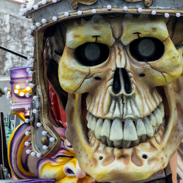"""""""Carnival Float Decorations"""" stock image"""