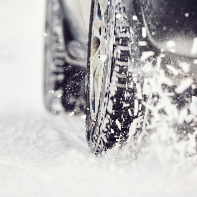 """Winter tire"" stock image"