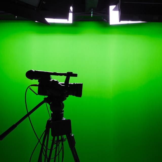 """TV studio"" stock image"