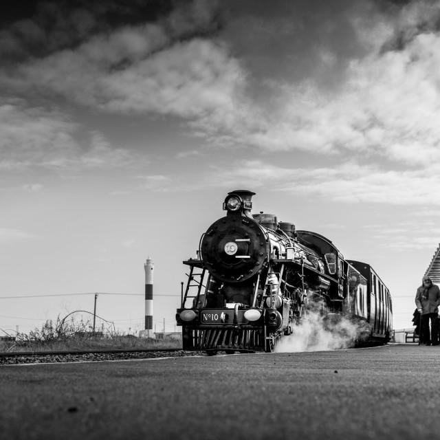 """Romney Hythe and Dymchurch Railway"" stock image"
