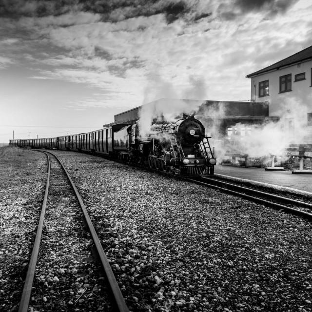 """Dr Syn Locomotive"" stock image"