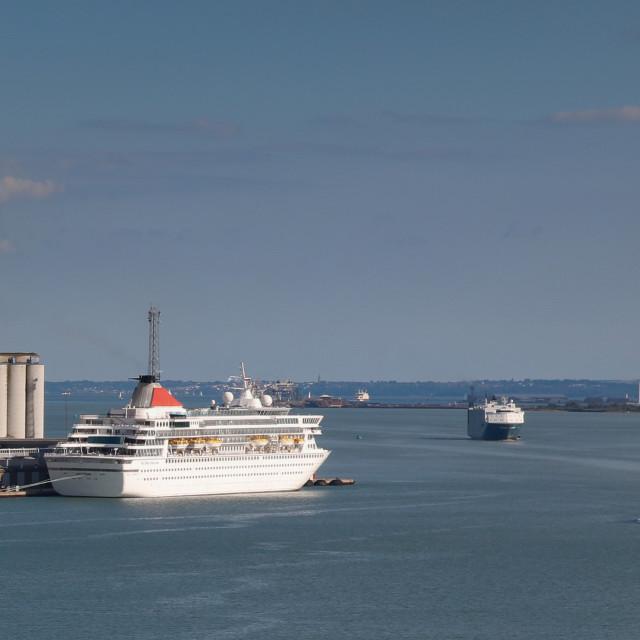 """Southampton Water"" stock image"