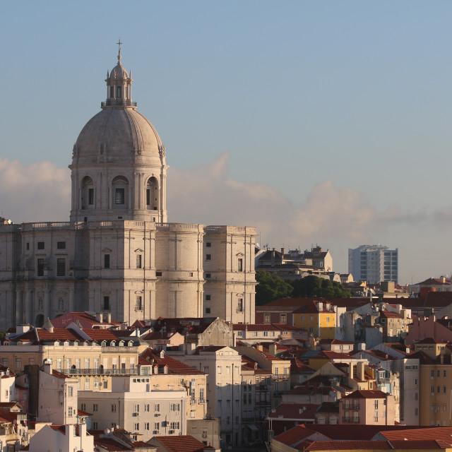 """""""Lisbon Sunrise"""" stock image"""