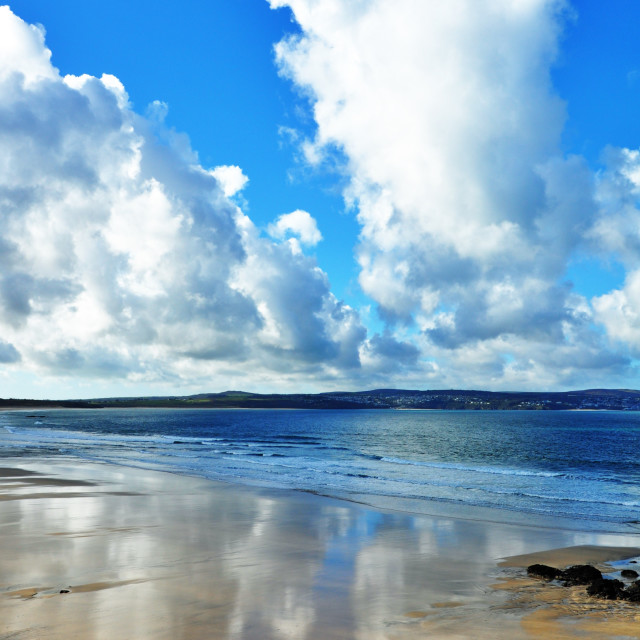 """St Ives Bay"" stock image"