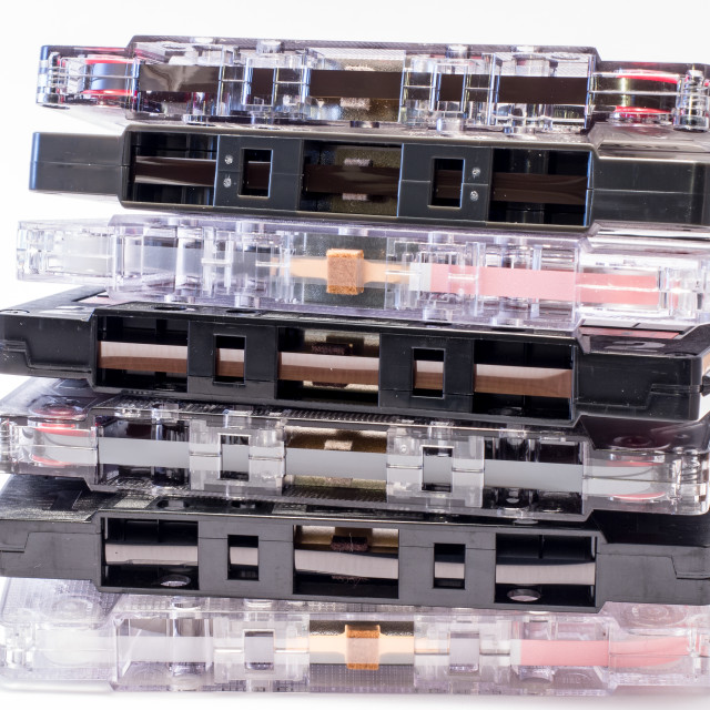 """""""The Cassettes Tape"""" stock image"""