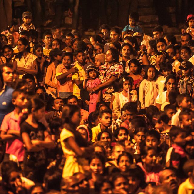 """""""Kandy Esala Perahera festival in Sri Lanka"""" stock image"""