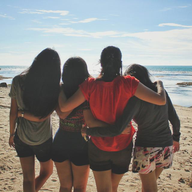 """Love Beach -1"" stock image"