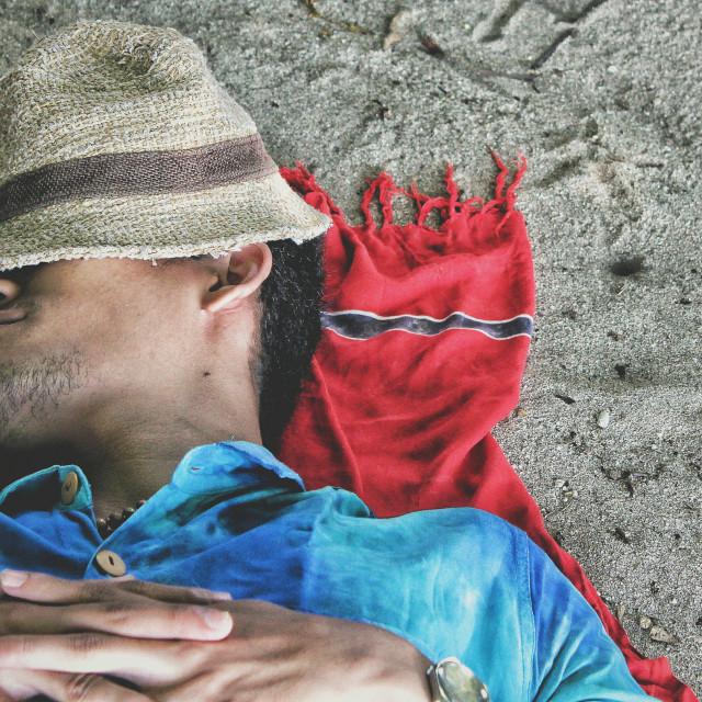 """Love Beach -2"" stock image"