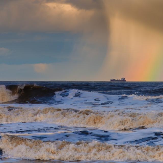 """Rainbow Attack."" stock image"