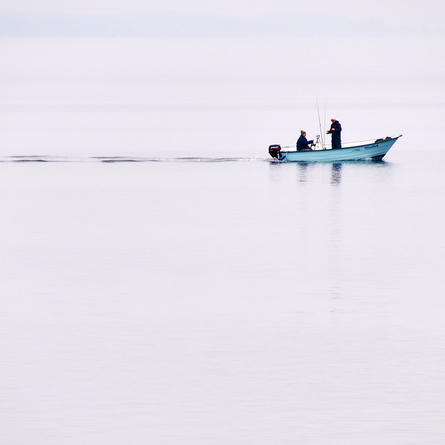 """fishermen in the morning"" stock image"